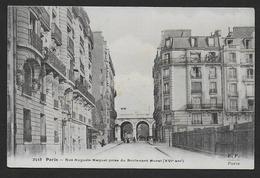 PARIS - Rue Auguste Maquet Prise Du Boulevard Murat ( XVIe Arrt ) - District 16