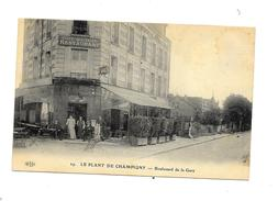 CPA - LE PLANT DE CHAMPIGNY - Boulevard De La Gare, état Très Bon - Champigny Sur Marne