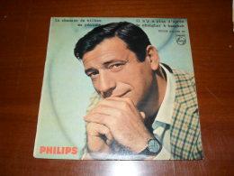 45 T - SP - Yves Montand -  La Chanson De Bilbao - Vinyles