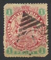 Rhodesia, British South Africa Company, 1 P, 1896, Sc # 27, Used. - Great Britain (former Colonies & Protectorates)