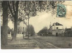 Carte Postale Ancienne De DIJON- Boulevard De La Trémouille - Dijon