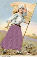 JEANNE D ARC(CARTE GAUFREE) - Histoire
