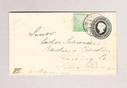 GB Cape Of Good Hope CAPE TOWN 16.10.1898 Ganzsache Halfpenny Mit Dito Ergänzung Nach Lima Peru - Afrique Du Sud (...-1961)
