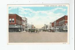 D STREET LOOKING EAST LAWTON OKLAHOMA 3201.29 - Etats-Unis
