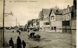 N°52686 -cpa Berck Plage -l'esplanade- - Berck