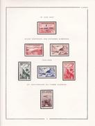 Algérie - Collection Vendue Page Par Page - Timbres Neufs * - Avec Charnière - Algeria (1924-1962)