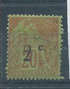 REUNION N°45 Oblitéré T. B. Aminci - Oblitérés