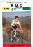 Mauro RIBEIRO . 2 Scans. Cyclisme. RMO 1989 - Ciclismo