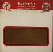 Enveloppe Illustrée Balnea Bourg En Bresse 01 Ain Skinea Skieur Ski YT 517 - Postmark Collection (Covers)