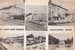 LUZY SUR MARNE  ( 52 ) Hôtel Restaurant Et Station Service Beauséjour - France