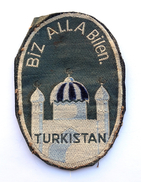 Insigne En Tissu LEGION TURKISTAN, Armée Allemande/ Wehrmacht 1941-1945. SUPERBE COPIE - Armée De Terre