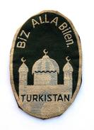 Insigne En Tissu LEGION TURKISTAN, Armée Allemande/ Wehrmacht 1941-1945. SUPERBE COPIE - Hueste