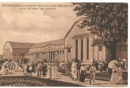 Deutschland, Germany - Internationale Hygiene - Ausstellung Dresden 1911 - Halle Fur Sport Und Kleindung - Dresden