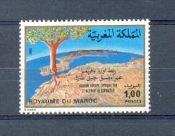 MOROCCO * SERIE 1v 1980 STRAIT OF GIBRALTAR * MNH - Marokko (1956-...)