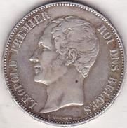5 FRANCS 21/22 AOUT 1853. MARIAGE DU DUC DE BRABANT. LEOPOLD PREMIER. ARGENT - 1831-1865: Léopold I