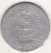 BELGIQUE. 1/2 FRANC 1844. LEOPOLD PREMIER. ARGENT - 1831-1865: Léopold I