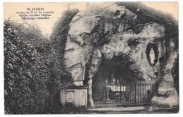 02 - HIRSON - Grotte De N.-D. De Lourdes édifiée Derrière L'Eglise - Ed. Hautmont N° 28 - Hirson
