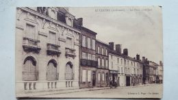 CPA -  08 - LE CHESNE - Place Coté Sud - Le Chesne