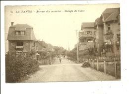 De Panne Avenue Des Mouettes Groupe De Villas - De Panne