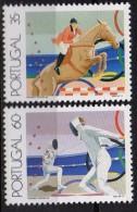 PIA - PORTOGALLO - 1991 : Sport Vari E Anelli Olimpici -  (Yv  1858-61) - Francobolli