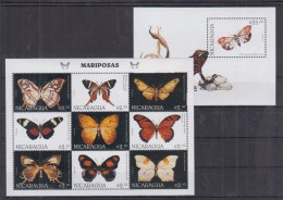 G16 Nicaragua - MNH - Insects - Butterflies