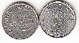 ESPAÑA 1997 .10 Pts.SÉNECA NUEVA SIN CIRCULAR.. CN4142 - [ 5] 1949-… : Reino