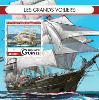 Tall Ships GUINEA (Guinée) 2016 (FREE SHIPPING) - Guinea (1958-...)