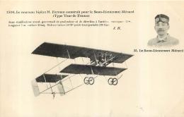 LE SOUS LIEUTENANT MENARD SUR BIPLAN FARMAN - ....-1914: Precursori