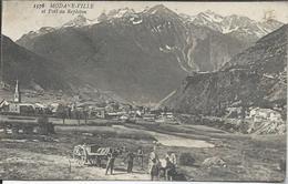 CP - 73 - Modane Ville Et Fort Du Replaton - Modane