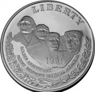 Etats-Unis, 1 Dollar 1991 - Argent / Silver UNC - Federal Issues