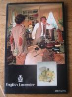 Ancien Carton Publicitaire Original (années 50) -  ENGLISH LAVENDER  ATKINSONS - Placas De Cartón