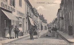 """¤¤  -   AUXONNE   -  Rue Lafayette  -  Café De Paris  -  Bijouterie """" Lecuff """"    -   ¤¤ - Auxonne"""