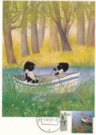 D27532 CARTE MAXIMUM CARD FD 1997 NETHERLANDS - CHILDREN ROWING CP ORIGINAL - Rowing