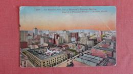 California > San Francisco== Aerial View From Merchants Exchange=====ref 2405 - San Francisco