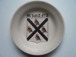 Soucoupe Migana (manufacture De Gien) - Plates