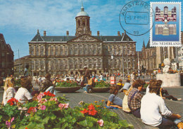 D27537 CARTE MAXIMUM CARD FD 1982 NETHERLANDS - ROYAL PALACE DE DAM AMSTERDAM CP ORIGINAL - Architecture