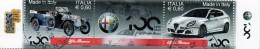 PIA - ITA - 2010 : 100° Anniversario Della Fondazione Dell´ Alfa Romeo   - (SAS  3157-58) - 6. 1946-.. República