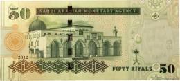 SAUDI ARABIA P. 34c 50 R 2012 UNC - Saudi-Arabien