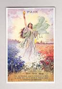"""Motiv Künstlerkarte """"Frieden"""" Ungebraucht Rückseite : Fête De La Paix Tavannes 27.6.1919 En Faveur D'une Infirmerie - Illustrators & Photographers"""