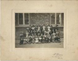 COUVIN : SUPERBE PHOTO - ECOLE GARDIENNE - 1912 - Voir 2 Scans - Couvin