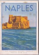 Livret Touristique ITALIE / NAPLES /31 PAGES ET PLAN + EXPLICATIONS ET PHOTO A CHAQUE PAGE - Publicités