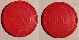 GETTONE TOKEN COOP PLASTICA SUPERMERCATO TOSCHI VIGNOLA - Monetary/Of Necessity
