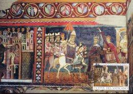 16053 Vaticano,maximum 2013,fresco Of The Church St. Silvester Of Rome,1700 Year Edit Of Milan,constantin Pope Silvester - Altri
