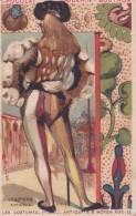 Chromo 1900 Les Costumes Antiquité Et Moyen Age : Vénitiens Du 14 Ième Siècle Par Guérin Boutron - Guérin-Boutron