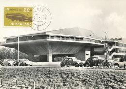 D27562 CARTE MAXIMUM CARD FD 1967 NETHERLANDS - DELFT TECHNICAL UNIVERSITY CP ORIGINAL - Architecture