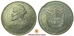 [NC] PANAMA - 50 CENTESIMOS DE BALBOA - 1904 - ARGENTO (nc1892) - Panama