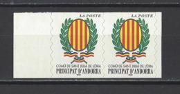 ANDORRE. YT 542 Neuf ** Série Courante. Blason 2001 - Unused Stamps