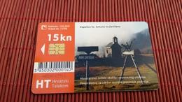 Prepaidcard Croatia  Used - Croatie