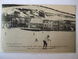 19112016-  30  - L'ESPEROU SOUS LA NEIGE   -  ALTITUDE 1230 METRES   - STATION ESTIVALE ET SPORTS D'HIVER - Otros Municipios