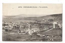 PONTARLIER  (cpa 25)    Vue Générale -  - L 1 - Pontarlier